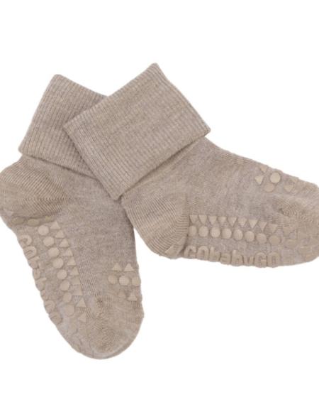 Anti Rutsch Socken Sand Bamboo von Go Baby Go
