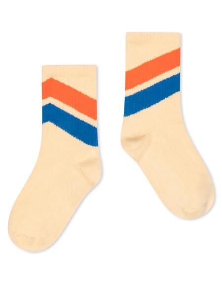 Socken Sporty Diagonal Almond von Repose AMS