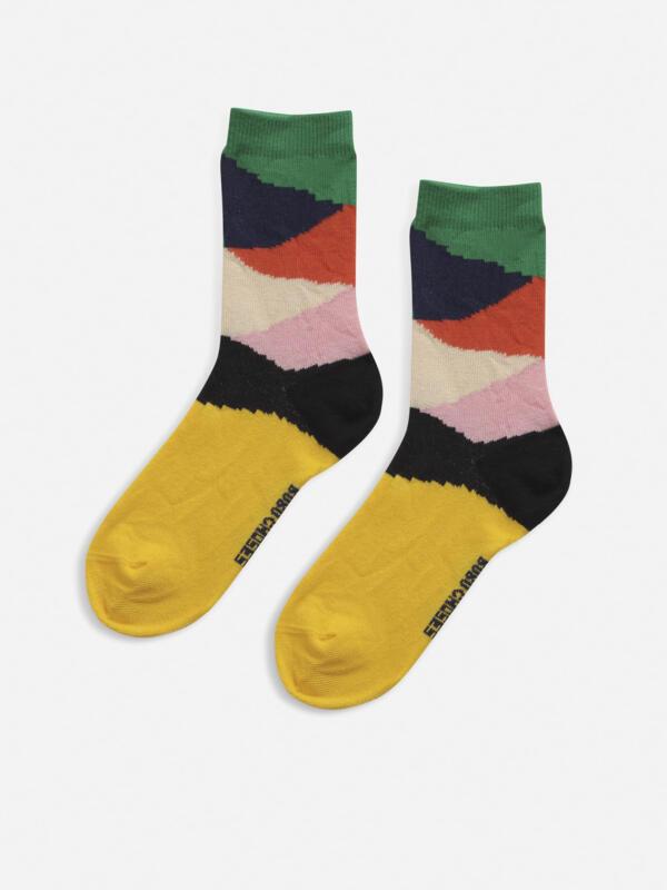 Socken Adults Multicolor Block von Bobo Choses