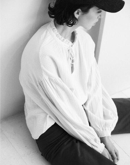 Bluse Woman Olivia Natural von The New Society