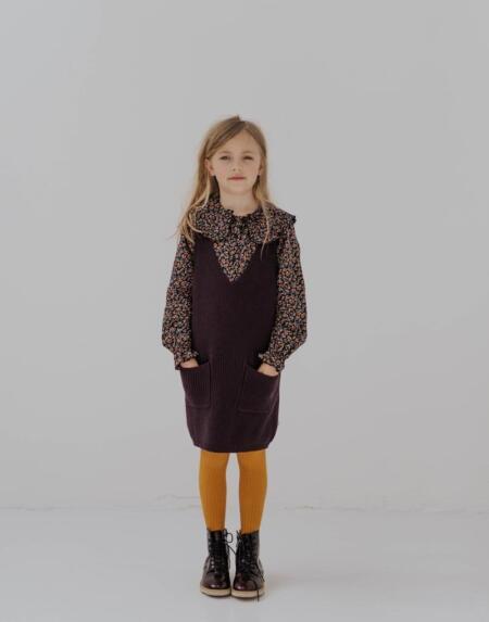 Strickshirt Kids Root Brunette von Repose AMS