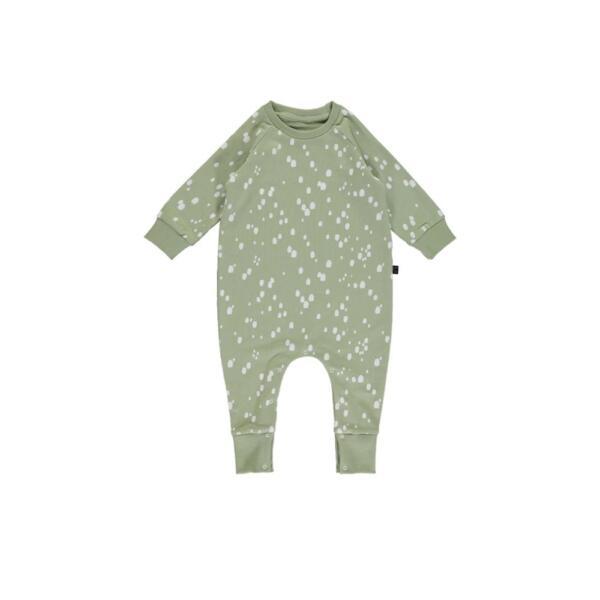 Overall Baby Mintdrops von Monkind