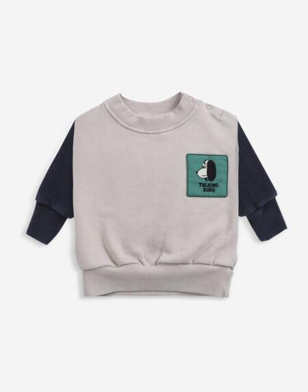 Sweatshirt Baby Doggie von Bobo Choses