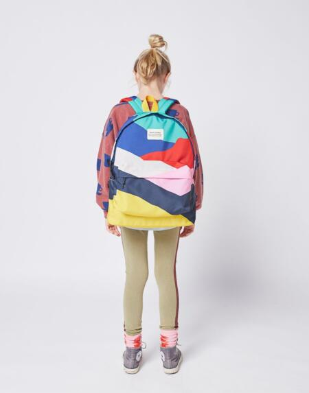 Rucksack Kids Multi Color Block von Bobo Choses