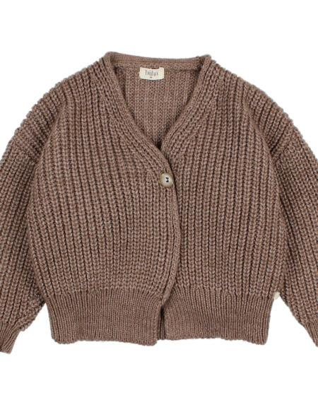 Cardigan Soft Knit Wood von Buho