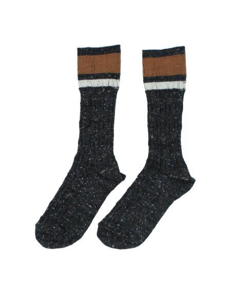 Socken Rib Dark Grey von Buho