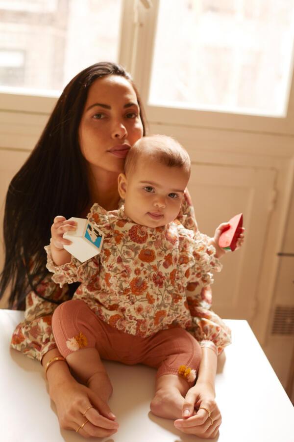 Leggings Baby Moldavia Sienna von Louise Misha