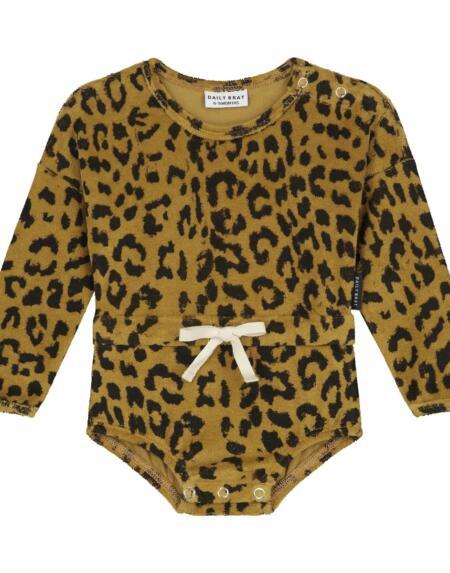 Suit Kids Leopard Sandstone von Daily Brat