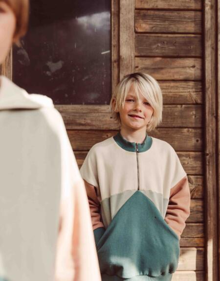 Pullover Kids Breeze Zipper von Monkind