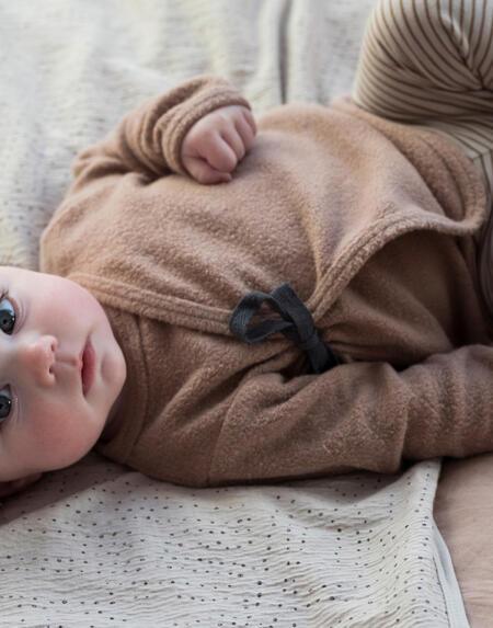 Teddy Baby Cardigan von Phil & Phae