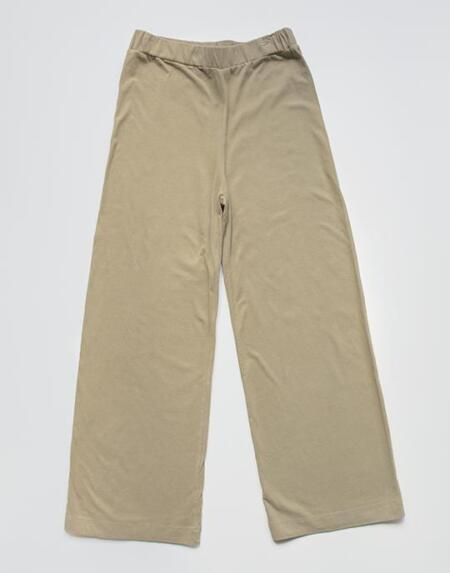 The Wide Leg Trouser Woman Sand von The Simple Folk