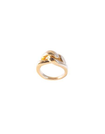Big Embrace Ring Gold von Hana Kim