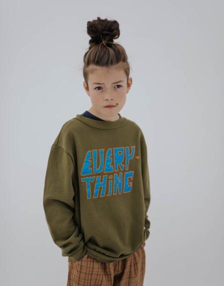 Sweater Kids Dark Olive von Repose AMS