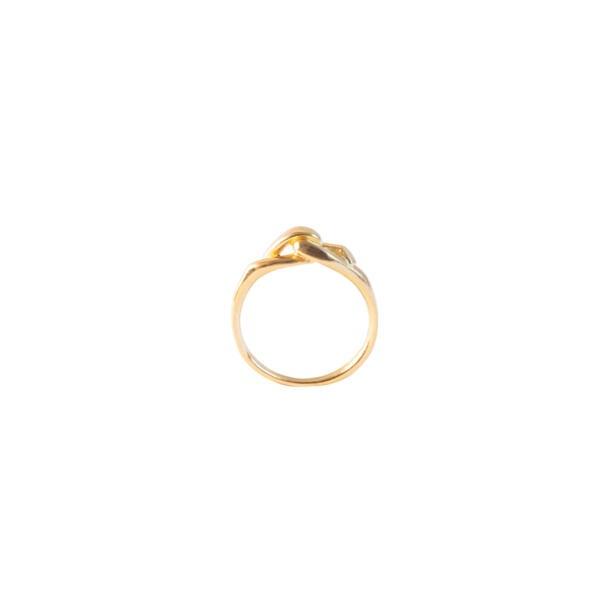 Small Embrace Ring Gold von Hana Kim