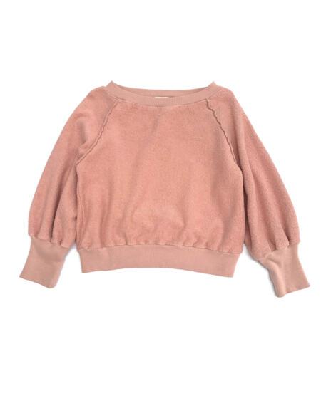 Frottee-Pullover Kids Old Rose von Longlivethequeen