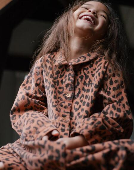 Cordkleid Kids Brooke Leopard von Daily Brat