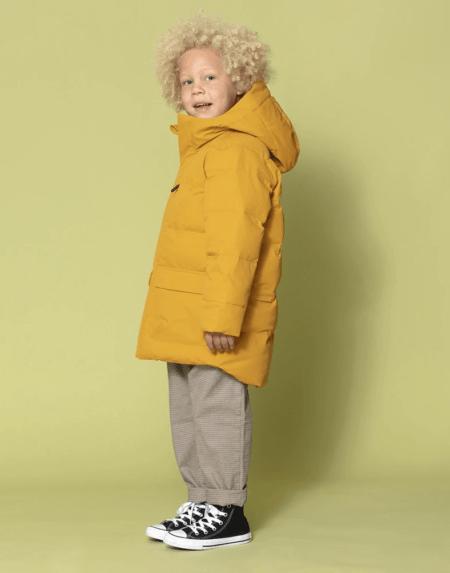 Winterjacke Kids Tiger Eye golden yellow von Go Soaky