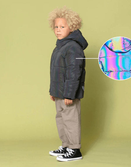 Winterjacke Kids Dragon Eye Colourshifting von Go Soaky