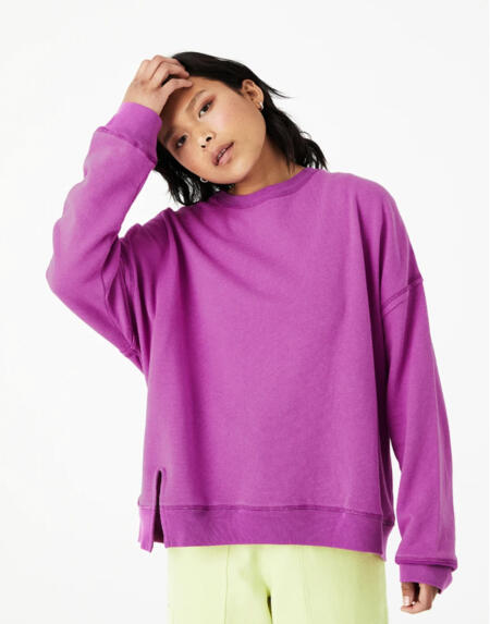 Sweatshirt Sina Hemp Fleece Orchid von Backbeat
