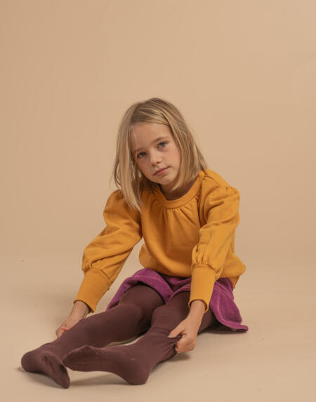 Pullover Kids Mineral Yellow von Longlivethequeen