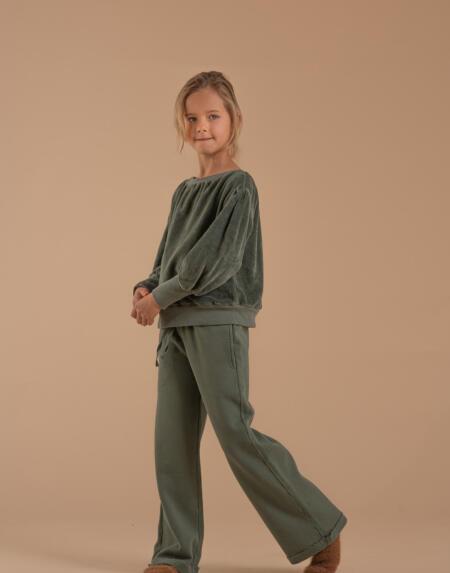 Pullover Kids Darkgreen von Longlivethequeen