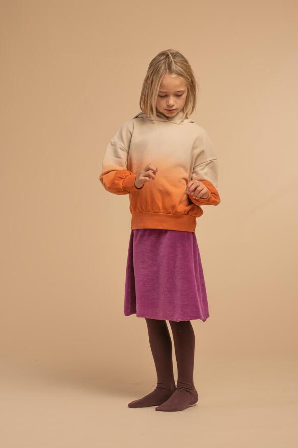 Kapuzenpullover Kids  Apricot von Longlivethequeen