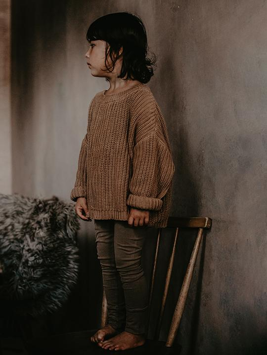 The Chunky Sweater Kids oatmeal von The Simple Folk